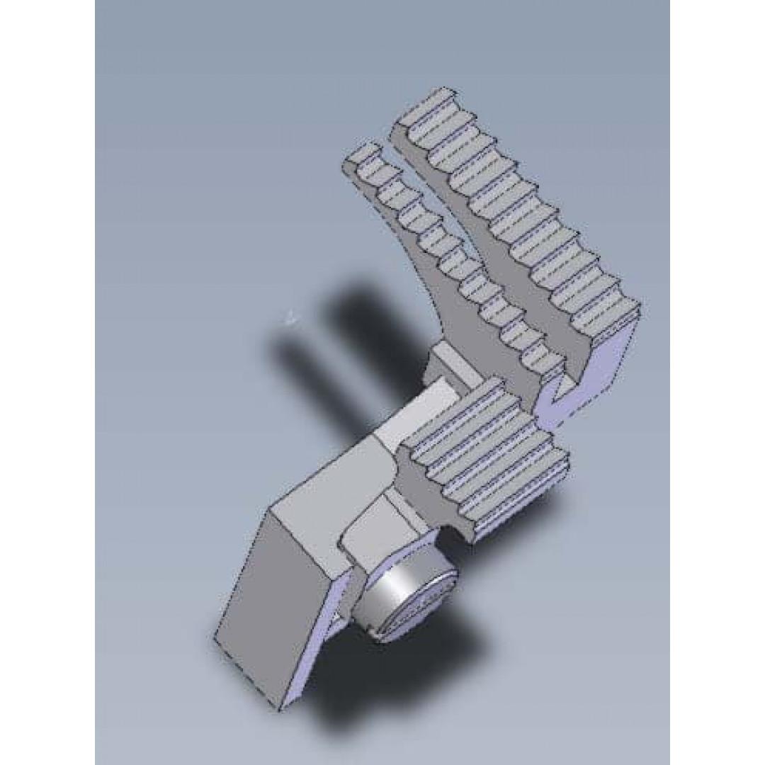 Зубчата рейка 20714008 для 3-ниткових оверлоків BRUCE BRC X5 / 5204
